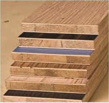 الخشب الكونتر المسدب