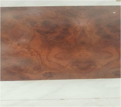 الخشب الحبيبي الملصق قشرة طبيعي